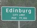 Image for Edinburg TX - Pop. 77,100