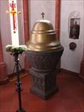 Image for Taufbecken in der Dreifaltigkeitskirche, Monreal - RLP / Germany