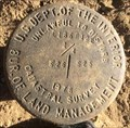 Image for T 18 S, R 12 E, 1/4 corner between Sec. 26 & 25 - Oregon