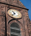 Image for First Churches Meetinghouse Clock.  Northampton, MA