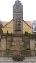 Image for World War I Memorial Rovne, Czech republic