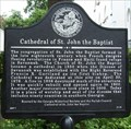 Image for Cathedral of St. John the Baptist - Chatham Co - Savannah, GA