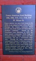 Image for Franco American Hotel Building - Yreka, CA