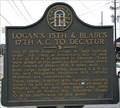 Image for Logan's 15th & Blair's 17th A.C. to Decatur - GHM 044-20 - DeKalb Co., GA