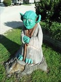 Image for Chainsaw Carved Yoda - Eureka Springs AR