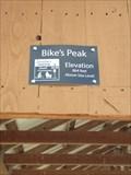 Image for Bike's Peak - Sweetser, Indiana. 864 feet above sea level