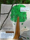 Even the Ferry Farm pamphlet perpetuates the cherry tree legend with its front page graphic and blurb.