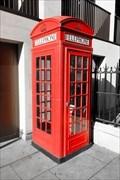 Image for Red Telephone Box - Fetter Lane, London, UK