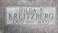 Image for 100 - Hilda Kreitzberg - Missoula, Montana