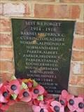 Image for War Memorial - The Green - Rampton, Cambridgeshire