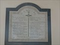Image for Memorial plaque - St Mary the Virgin - Happisburgh, Norfolk