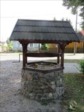 Image for Old draw well on the town square - Kamienczyk, Poland