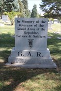 Image for G.A.R. Memorial - Salt Lake City Cemetery - Salt Lake City, UT