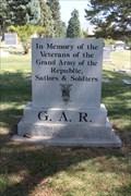 Image for G.A.R. Memorial - Salt Lake City Cemetery - Salt Lake City, UT
