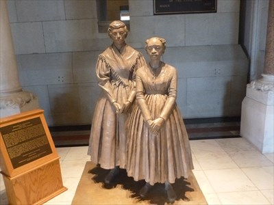Prudence Crandall - Hartford, CT - Statues of Historic Figures on ...