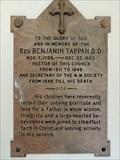 Image for Reverend Benjamin Tappan D.D. - Augusta, ME