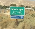 Image for Maricopa, Californa ~ Elevation 854 ft.
