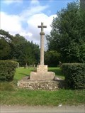 Image for Combined WWI/WWII stone cross, All Saints - Wreningham, Norfolk