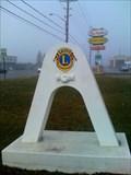 Image for Friendship Arch - Entering town on Bridge Street - Bradford, Ontario
