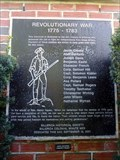 Image for Revolutionary War Veterans - Billerica, MA