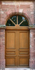 Image for Doorway of Kreuzerhöhungskirche in Fontaine - Franche-Comté / France