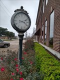 Image for City Hall Clock - Groesbeck, TX