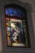 Image for Paroquia Nossa Senhora do Brasil stained windows and door - Sao Paulo, Brazil