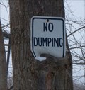 Image for No Dumping Sign - Vestal, NY