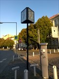 Image for Roudnice nad Labem Street Clock on Square, Czechia