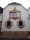 Image for Relief window framing, Eguisheim, Alsace, France