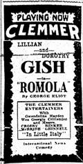 Image for Clemmer Theater 1925 - Spokane, WA