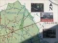 Image for Vous êtes ici - Carte générale des promenades du Réveil à Blegny-Mine - Blegny - Belgique