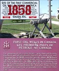 Image for FIRST - Commercial Oil Well in North America