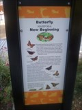 Image for Mariposa Park Butterfly Sign - Mountain View, CA