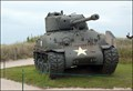 Image for US Sherman M4 Tank at Utah Beach Museum in La Madeleine (Normandy, France)