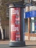 Image for Upper Market Square Advertising Column - Hanley, Stoke-on-Trent, Staffordshire, UK.