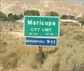 Image for Maricopa, California ~ Population 1,245