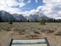 Image for Teton Range - Mountain View Turnout, Wyoming
