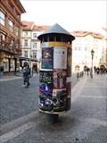 Image for Reklamní sloup na Ovocém trhu - Praha 1, Czech republic