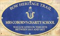 Image for Mrs Coborn's Charity School - Fairfield Road, London, UK