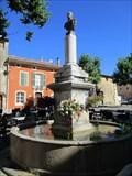 Image for Fontaine de la place de la libération - Varages, Paca, France