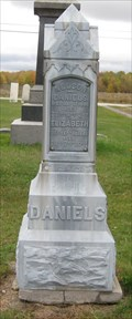 Image for Daniels/Exceen - Trumbull Cemetery - Trumbull, Ohio