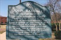 Image for John Badollet ~ Vincennes, IN