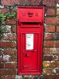 Image for Victorian Wall Post Box - St Georges Road - Farnham - Surrey - UK