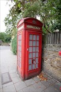 Image for Red Telephone Box - Essex Road, London, UK