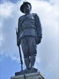 Image for Soldier - Boer War Memorial - Crewe, Cheshire East, UK.
