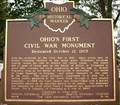 Image for Ohio's First Civil War Monument ( 21 - 78 )