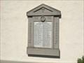 Image for World War I & II Memorial - Hohlenstein, BW, Germany