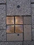 Image for Stolpersteine Friedberg und Lupolianski - Kriegstraße 122, Karlsruhe, BW, Germany