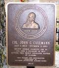 Image for Col. John G. Cullmann - Cullman, AL